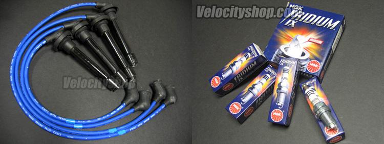 NGK Iridium Spark Plugs & Wires 94-01 Integra GSR Type R ...